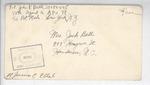 Jack P. Bell World War Two Correspondence #400