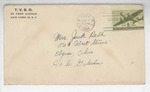 Jack P. Bell World War Two Correspondence #401