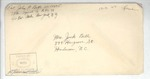 Jack P. Bell World War Two Correspondence #402