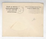 Jack P. Bell World War Two Correspondence #405