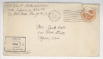 Jack P. Bell World War Two Correspondence #411