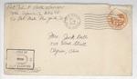 Jack P. Bell World War Two Correspondence #411