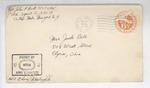 Jack P. Bell World War Two Correspondence #419