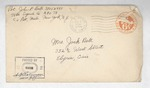 Jack P. Bell World War Two Correspondence #431