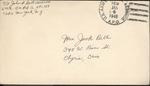 Jack P. Bell World War Two Correspondence #440