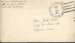 Jack P. Bell World War Two Correspondence #444