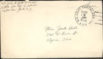 Jack P. Bell World War Two Correspondence #445
