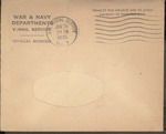 Jack P. Bell World War Two Correspondence #452