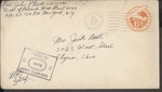 Jack P. Bell World War Two Correspondence #454