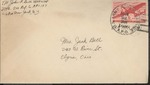 Jack P. Bell World War Two Correspondence #456