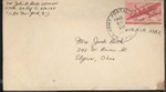 Jack P. Bell World War Two Correspondence #461
