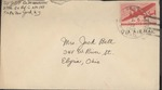 Jack P. Bell World War Two Correspondence #463