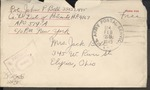 Jack P. Bell World War Two Correspondence #469