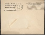 Jack P. Bell World War Two Correspondence #470
