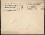 Jack P. Bell World War Two Correspondence #470