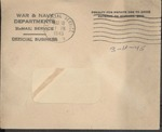 Jack P. Bell World War Two Correspondence #476