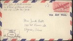 Jack P. Bell World War Two Correspondence #479