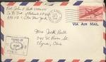 Jack P. Bell World War Two Correspondence #487
