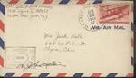 Jack P. Bell World War Two Correspondence #491