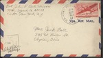 Jack P. Bell World War Two Correspondence #492