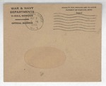 Jack P. Bell World War Two Correspondence #493