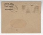 Jack P. Bell World War Two Correspondence #493