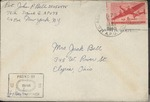 Jack P. Bell World War Two Correspondence #496