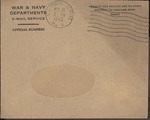 Jack P. Bell World War Two Correspondence #498
