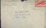 Jack P. Bell World War Two Correspondence #506