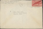 Jack P. Bell World War Two Correspondence #512