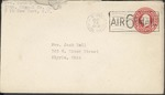 Jack P. Bell World War Two Correspondence #524