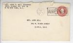 Jack P. Bell World War Two Correspondence #534
