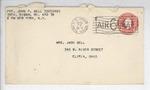 Jack P. Bell World War Two Correspondence #538