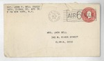 Jack P. Bell World War Two Correspondence #580