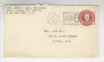 Jack P. Bell World War Two Correspondence #584