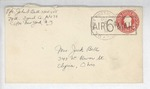Jack P. Bell World War Two Correspondence #586