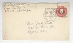 Jack P. Bell World War Two Correspondence #587