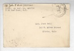 Jack P. Bell World War Two Correspondence #593