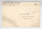 Jack P. Bell World War Two Correspondence #597