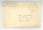 Jack P. Bell World War Two Correspondence #601