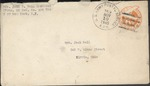 Jack P. Bell World War Two Correspondence #610