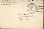 Jack P. Bell World War Two Correspondence #621