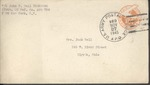 Jack P. Bell World War Two Correspondence #624