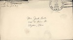 Jack P. Bell World War Two Correspondence #631