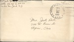 Jack P. Bell World War Two Correspondence #637