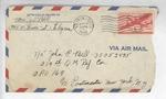 Jack P. Bell World War Two Correspondence #644