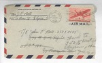 Jack P. Bell World War Two Correspondence #647