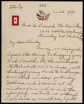Charles Eggeling First World War Correspondence #09