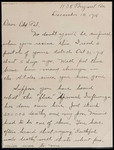 Charles Eggeling First World War Correspondence #15