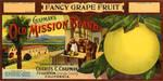 Old Mission Brand grapefruit